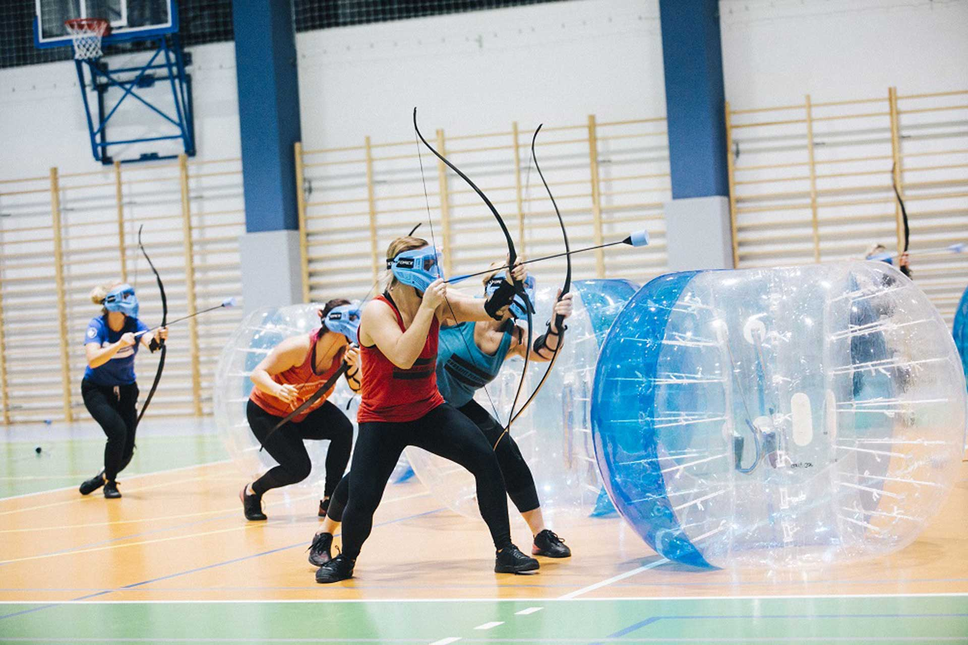 Archery Games + Bubble Football